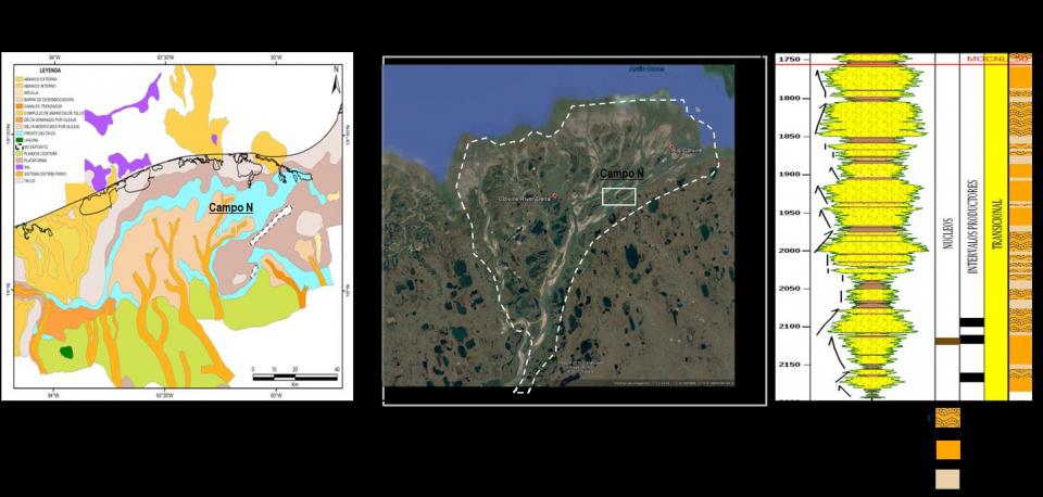 Importancia del uso de guías sedimentarias para la distribución y poblamiento de propiedades