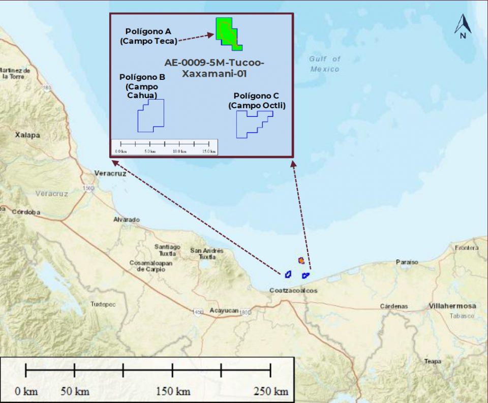 La Comisión Nacional del Hidrocarburos (CNH) aprobó a Pemex el Plan de Desarrollo para la Extracción para el Campo Teca.