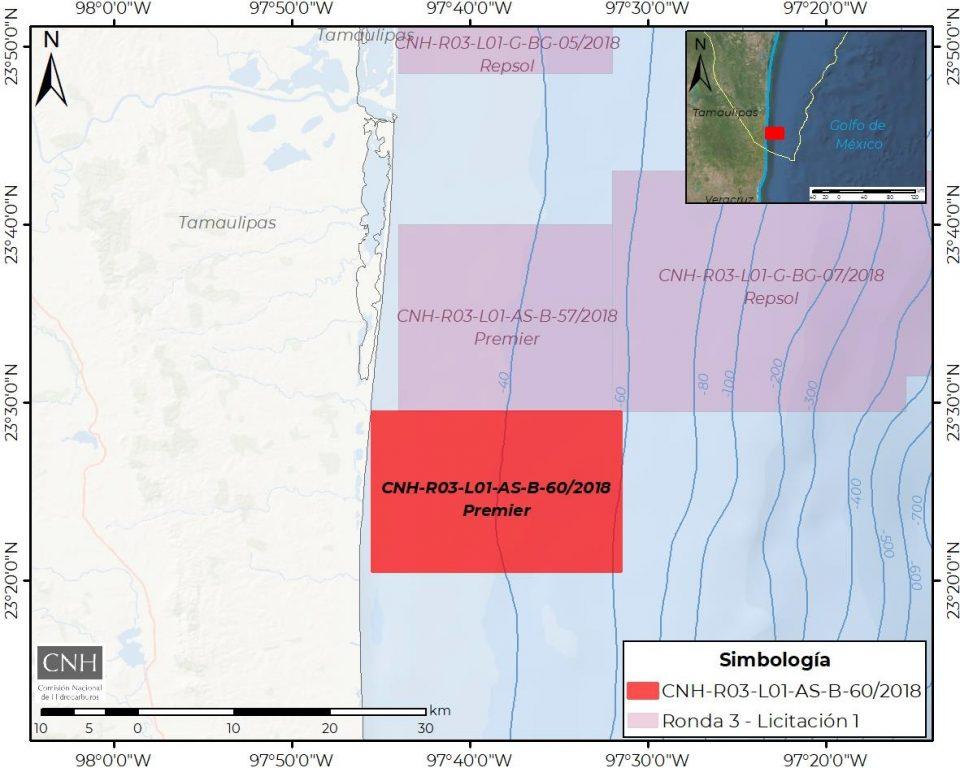 Premier Oil invertirá 4.2 mdd en plan de exploración en litoral de Tamaulipas