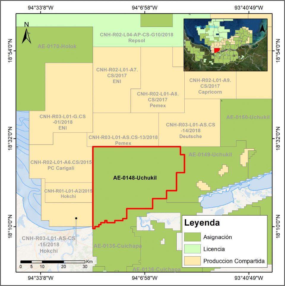 Pemex va por más hidrocarburos en Uchukil