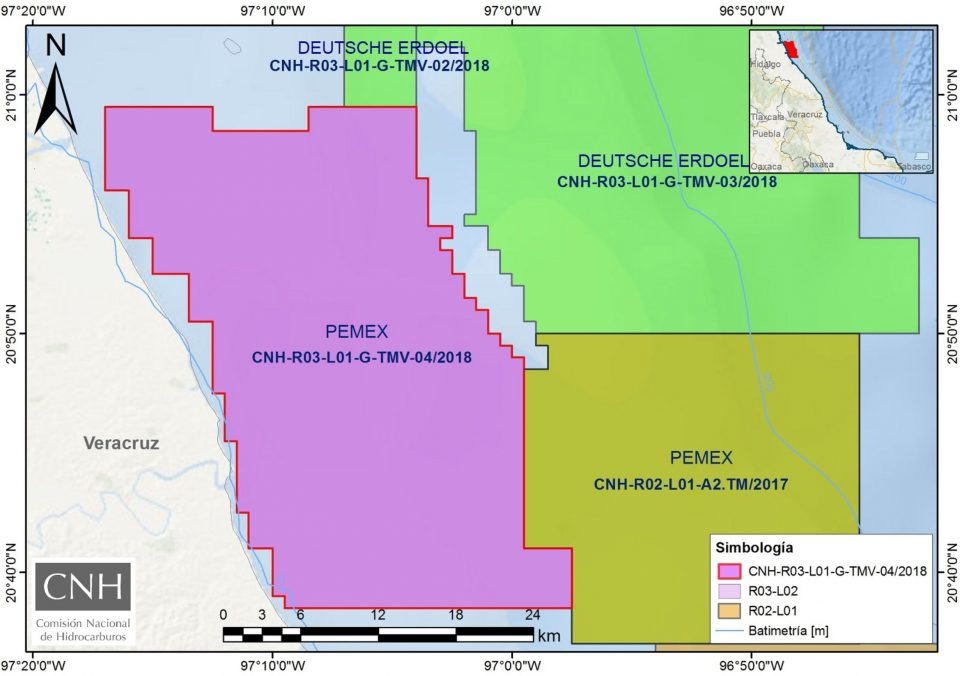 Aprueban a Pemex plan de trabajo en aguas someras