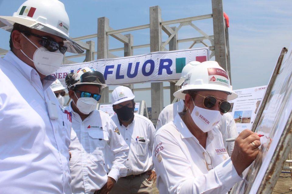 Destaca Nahle trabajo del IMP en refinería de Dos Bocas