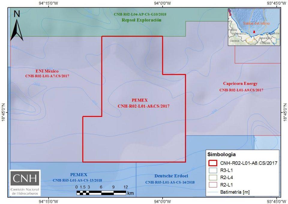 CNH aprueba plan a Pemex para aguas someras