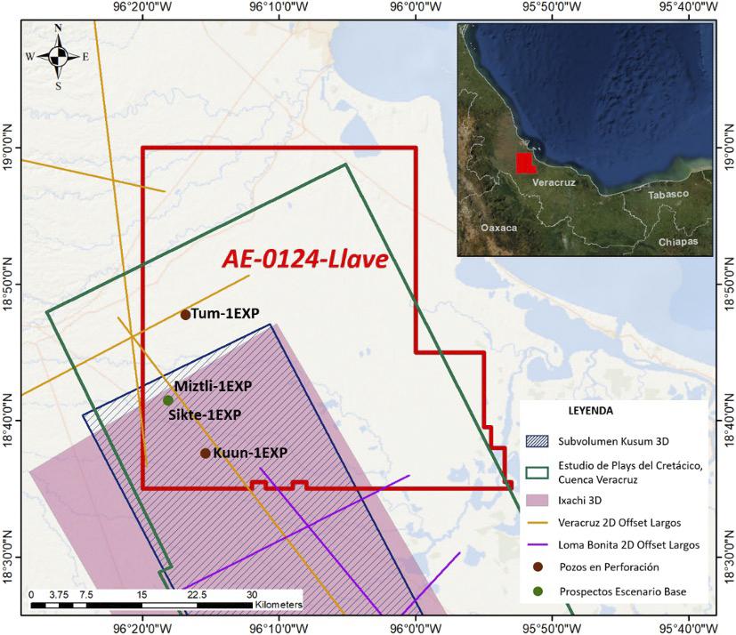 Pemex invertirá 229 mdd en campo terrestre Llave