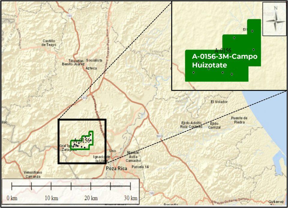 Pemex invertirá 93 mdd en campo Huizotate