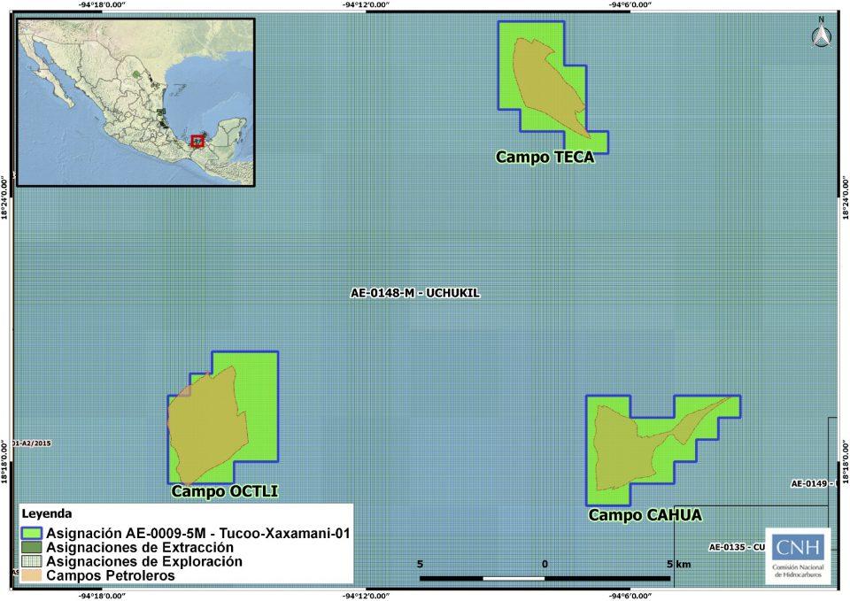 Pemex invertirá 266 mdd para desarrollar campo Octli