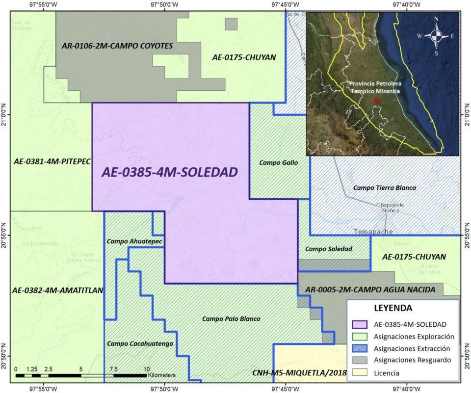 Pemex invertirá 40.3 mdd en campo Soledad
