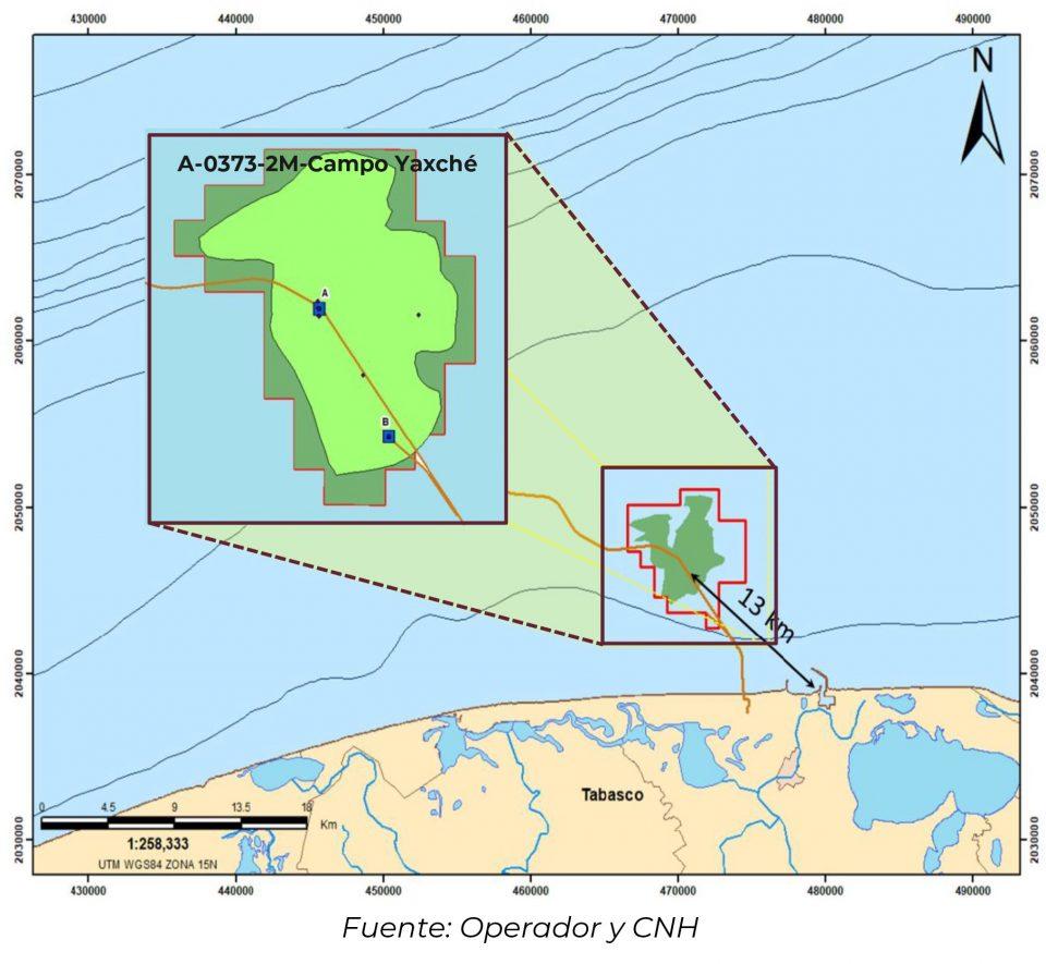 Pemex aumenta inversión en Campo Yaxché a 3,223 mdd