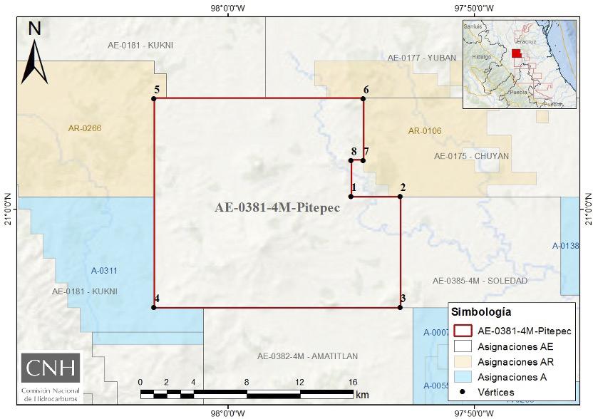 Autorizan a Pemex modificación en Asignación AE-0381-4M-Pitepec