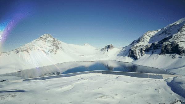 Planta solar vertical en los Alpes arrancará en 4 meses