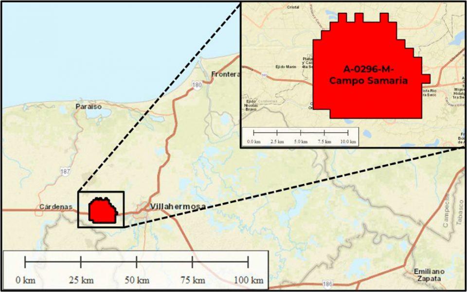 Pemex invertirá 2,848 mdd en campo Samaria
