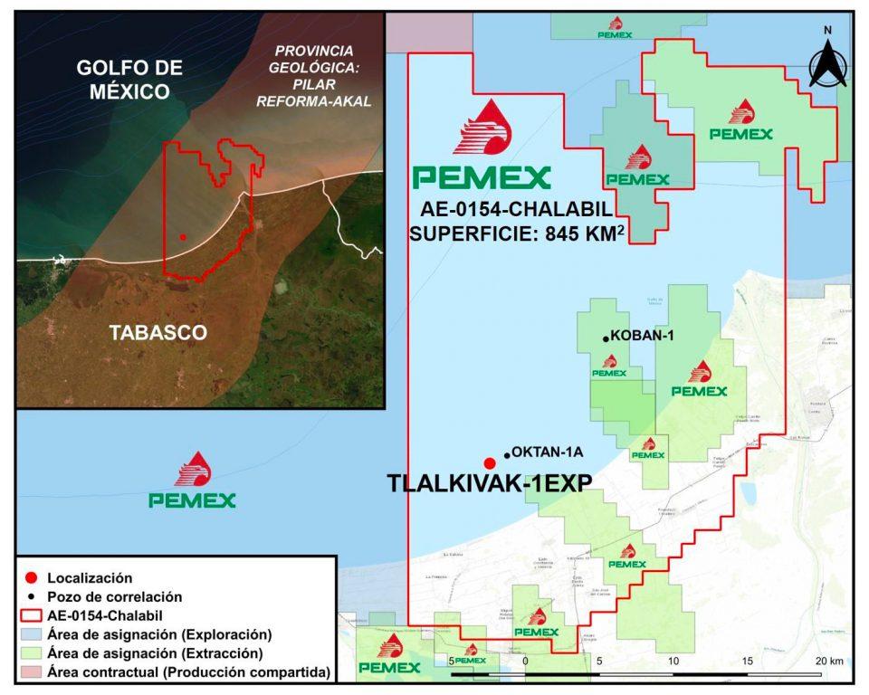 Aprueban a Pemex perforación de Tlalkivak-1EXP