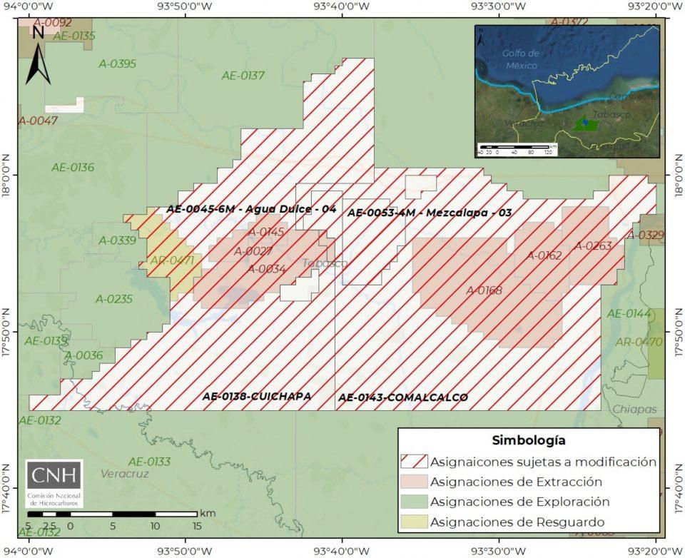 CNH emite opinión técnica favorable a 4 asignaciones de Pemex