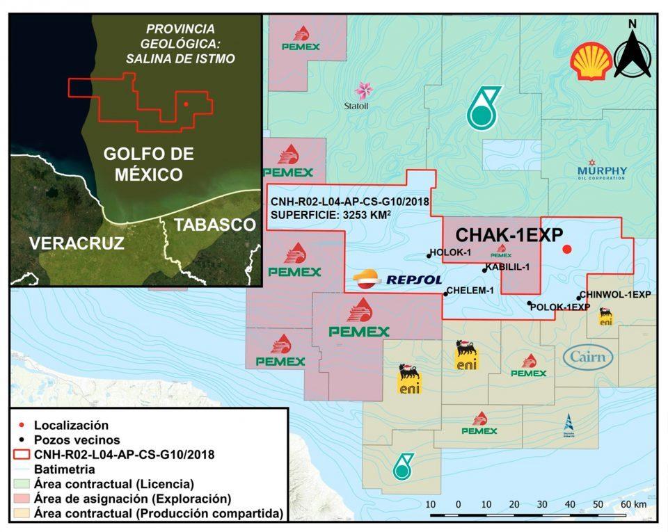 CHN autoriza a Pemex perforación de 11 pozos