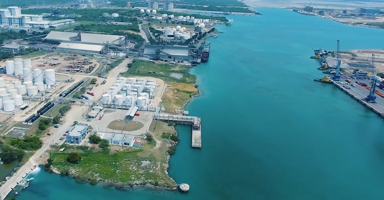 Valero arrancó la construcción de una terminal de almacenamiento de combustibles en el puerto de Altamira, Tamaulipas.
