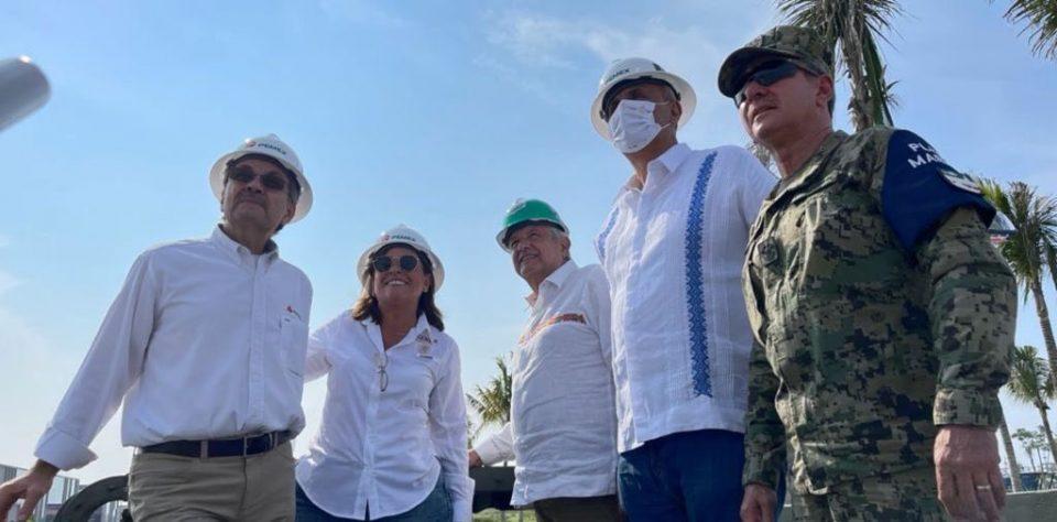 Refinería de Dos Bocas se inaugurará en junio de 2022: AMLO