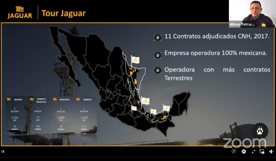 Jaguar E&P suma 11 contratos en México